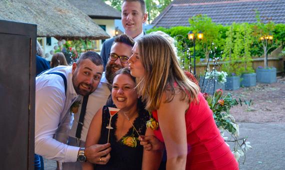 Fotobooth bruiloft