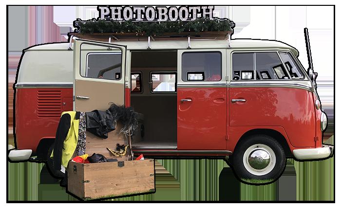 VW Fotobusje huren Flitskast